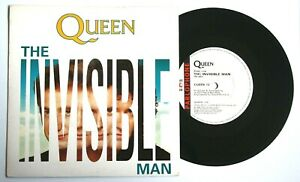 EX-EX-QUEEN-THE-INVISIBLE-MAN-7-034-VINYL-45-DISC