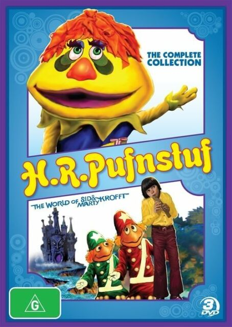 H.R. Pufnstuf - The Complete Collection ( DVD , 3 Disc Set ) Brand New! Region 4