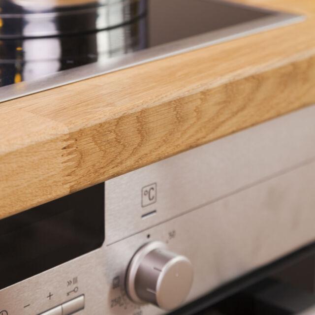 Solid Wood Oak Kitchen Worktop 3000mm X 620mm X 40mm