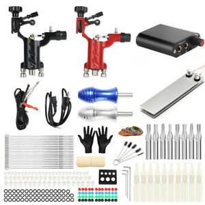 Details about Complete Tattoo Kit Professional Rotary Tattoo Machine Tattoo Power Supply
