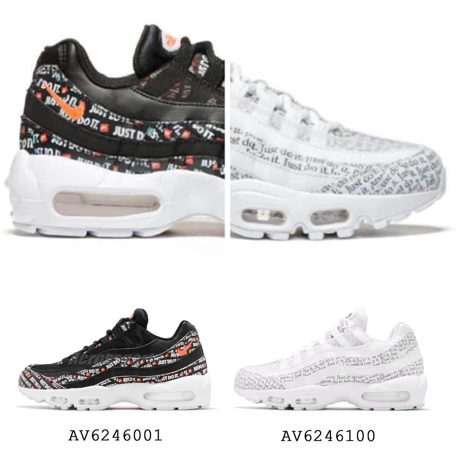 Nike Air Max 95 SE Just Do It Pack noir / blanc homme Limited Sneakers Pick 1