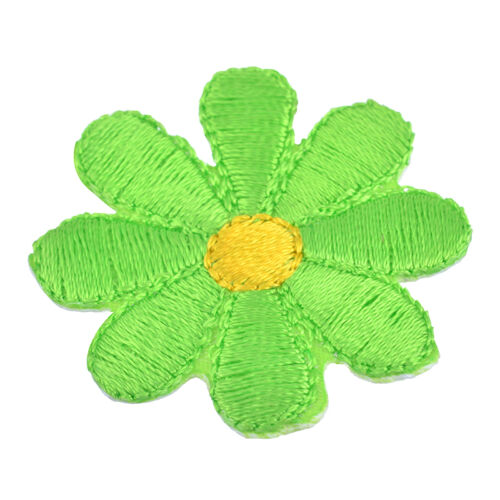 Fashion5x Flower Embroidered Patches For Clothes Garments Sewing DIY Craft 3.7cm