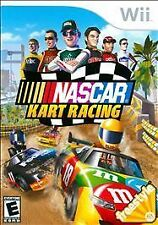 NASCAR Kart Racing Nintendo Wii Cart Car Race Driving Game Wii U Compatible