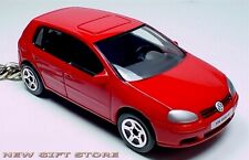 RARE KEY CHAIN RED VOLKSWAGEN GOLF V 5 DOORS TD TDi RABBIT NEW LIMITED EDITION