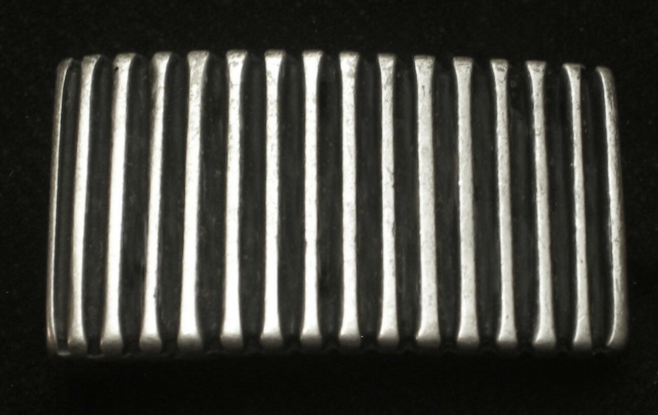 Adorno en la cintura para 20mm ancho cinturón de metal color bastones a rayas nuevo top #