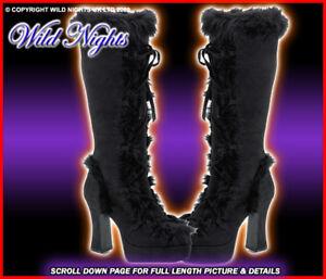 MAM311B-70-039-S-LACE-UP-PLATFORM-BOOTS-BLACK-SIZE-7