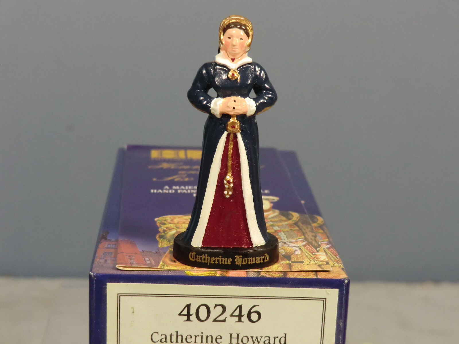 BRITAINS ( HRP)  'HENRY VIII & HIS 6 WIVES'  No.40246 CATHERINE HOWARD  MIB
