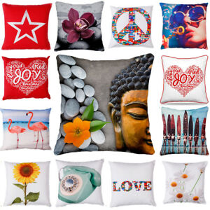 Home-Decor-Office-Sofa-Cushion-Square-Throw-Pillow-Cover-Case-pillowslip-18-034-x18-034