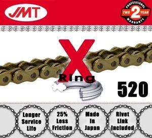 JMT-Gold-X-Ring-Drive-Chain-520-P-96-L-for-Yamaha-Atv-Quads