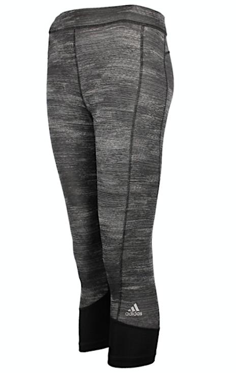 Adidas Damen Hose Pants Gr.38 TechFit Climalite 3/4 Leggins Leggings Grau 97101