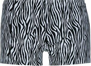 4647bdd453 Bruno Banani Men's Zebra Life Swim Short Swimwear Black White ...