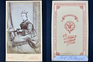 Boak, Driffield, Madame Pollauck Vintage cdv albumen print Tirage albuminé