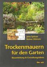 NEU! Trockenmauern für den Garten als Tier- und Pflanzenreich!  Bauvorschriften.