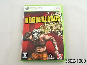 Imported From Abroad Borderlands Xbox 360 Replacement Case And Manual Only Discounts Sale Video Games & Consoles