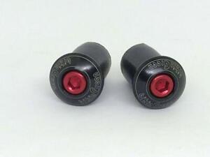 bikinGreen-Machined-Bar-end-cap-Handlebar-plug-034-Black-034-Road-BIKE