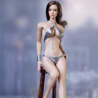 1//6 Female Shirt Uniform Short Sleeve Tops Fit 12/'/' Girl Action Figure Body