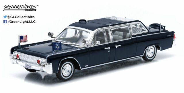 1:43 GreenLight lincoln continental ss-100-x kennedy 1961