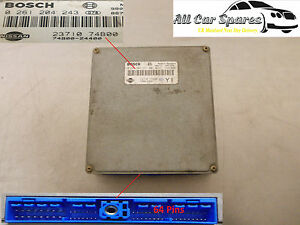Nissan-Micra-ECU-Engine-Control-Unit-K11-1-0-Petrol-Manual-0261204243