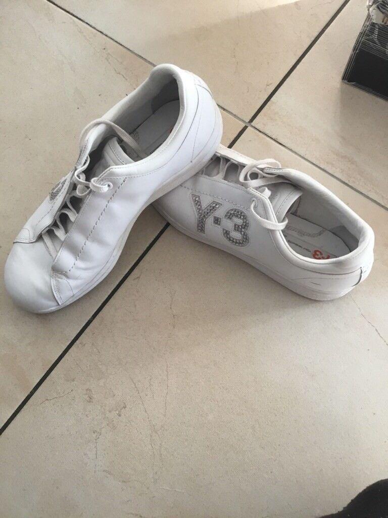 ADIDAS y3 Yohji Yamamoto scarpe D 40 2/3 Bianco