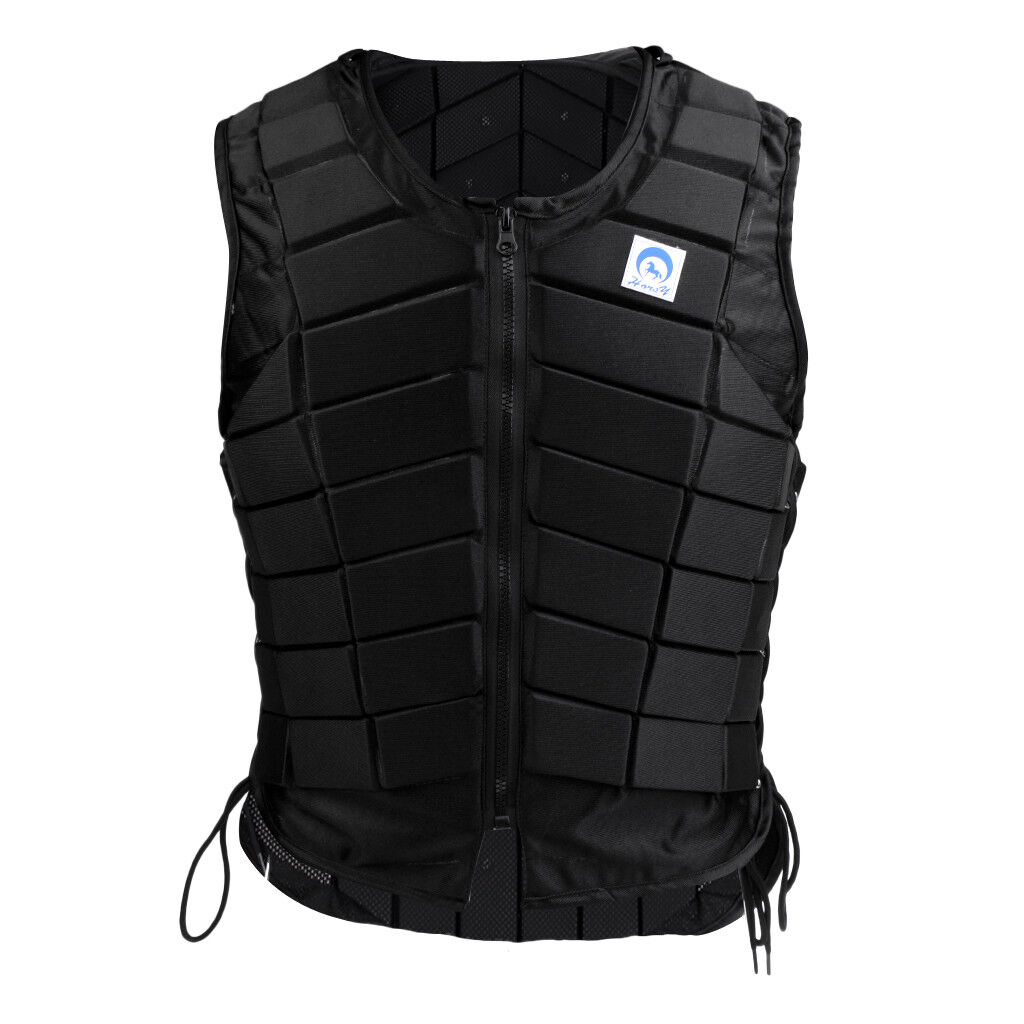 Sie Equestrian Vest Body Protector Horse Riding Protective Zip Weste XL