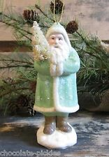 Belsnickle SANTA Ornament*BristleTree*Primitive/French Country Christmas Decor