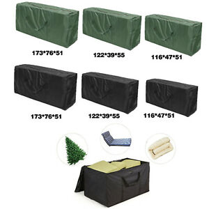 Image Is Loading Protective Zippered Cushion Cover Storage Bag Outdoor Patio