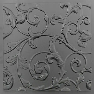 Lily Plastic Molds for 3 D Panels  Plaster wall stone Form 3D decor wall panels