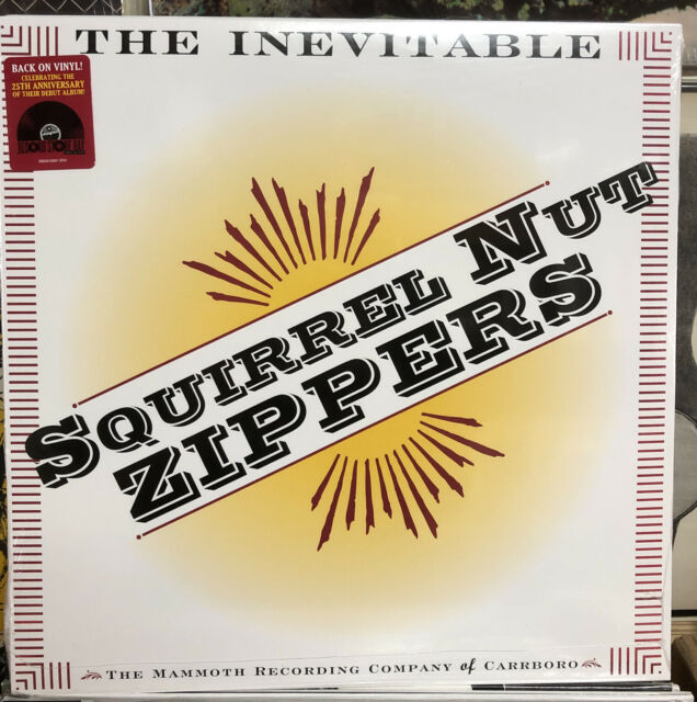 SQUIRREL NUT ZIPPERS - THE INEVITABLE LP RSD 2020 LIMITED EDITION VINYL RECORD
