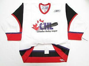 c1656e4f834 CHL TOP PROSPECTS GAME AUTHENTIC WHITE PRO REEBOK HOCKEY JERSEY SIZE ...