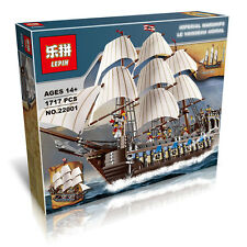 Imperial Flagship Pirates of the Caribbean Big movie Building toys Blocks 22001