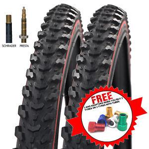 Raleigh-CST-Eiger-Redline-26-x-1-95-034-Mountain-Bike-Tyres-amp-Tubes