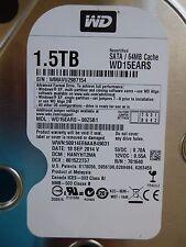 1,5 TB Western Digital WD15EARS-00Z5B1   HANYHT2MA   18 SPE 2014