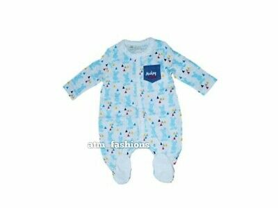 Disney Baby All Over  Mickey Mouse Boys All In One Sleepsuit Romper Nightwear