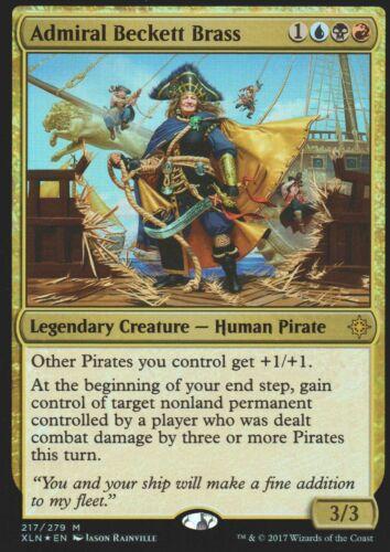 Admiral Beckett Brass FOILNMIxalanMagic MTG