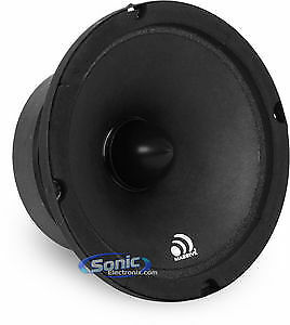 "Massive Audio M6 300 Watt 6-1//2/"" M Series Mid-Range Car Speaker Driver Open Box"