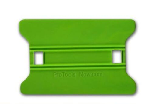 """4/"""" Lime Speed Wing Hard Card Bubble Remover Squeegee Window Film Tinting Tool"""