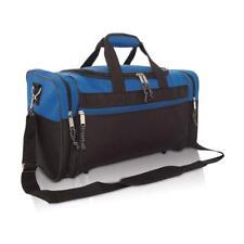 92f14e735c74 DALIX Duffle Bag Sports Duffel Bag in Royal Blue and Black Gym Bag ...