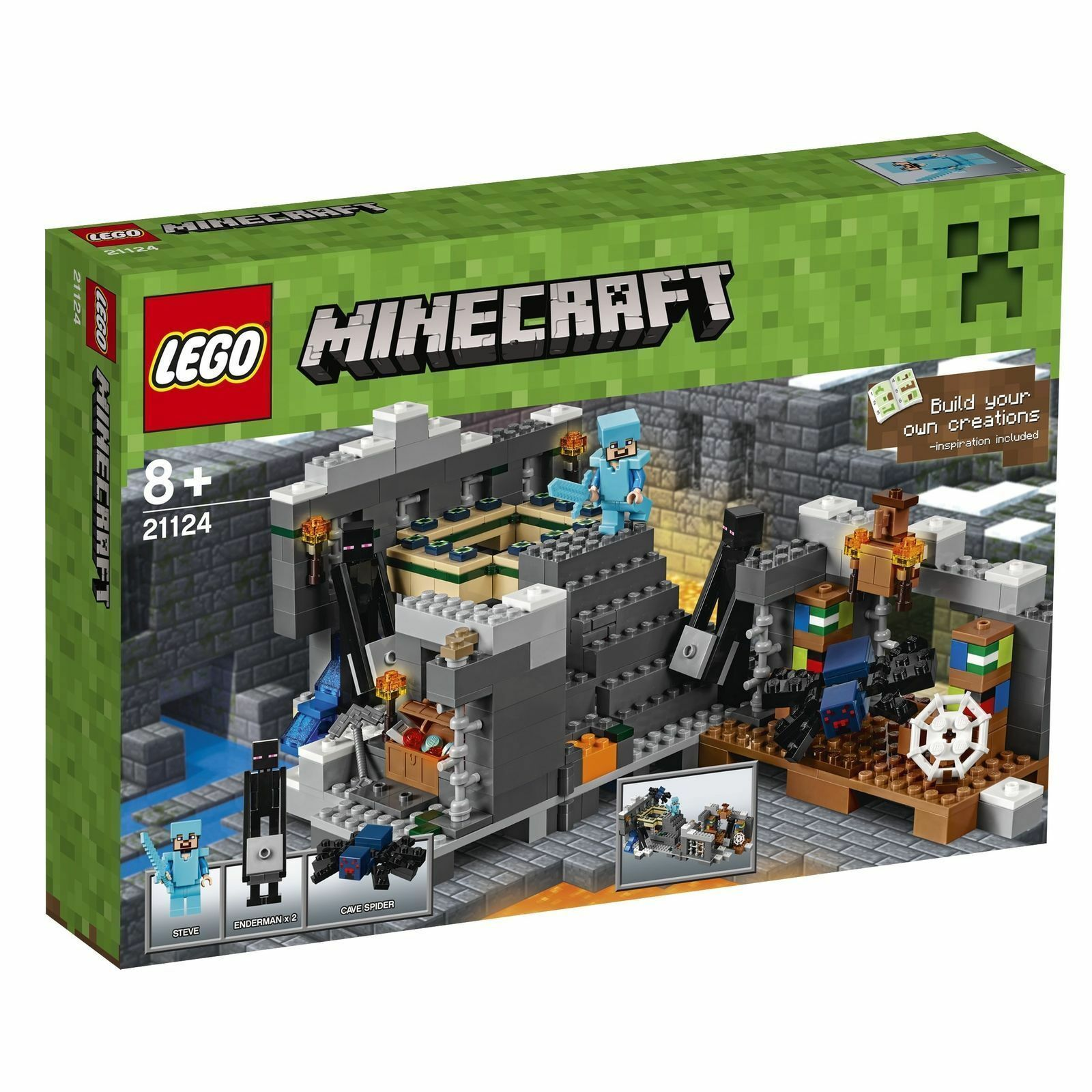 LEGO MINECRAFT 21124   Le portail portail portail de l'air    NEUF 8a89ee