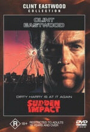 Dirty Harry Sudden Impact [Regions 2,4] - DVD - Free Shipping. New.