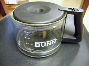 BUNN-10-CUP-COFFEE-DECANTER-POT-Original-Replacement-Glass-Carafe