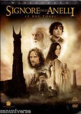 BOX DVD FILM FANTASY-IL SIGNORE DEGLI ANELLI/THE LORD OF THE RINGS LE DUE TORRI