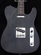 Guitar-Black Fender Telecaster+SRV's+Custom Neck+TrebleBleed Modified By Haywire