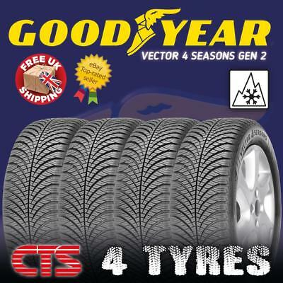 Goodyear Vector 4 Seasons G2 175//65R14 82T All-Season Tire
