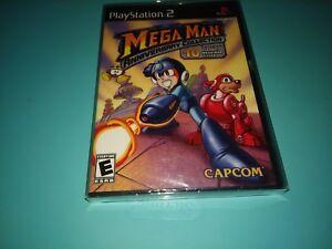 Mega-Man-Anniversary-Collection-Playstation-2-PS2-2004-NEW-BONUS-PROTECTOR