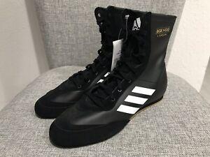 AC7157 Leather Boxing Shoe Black White