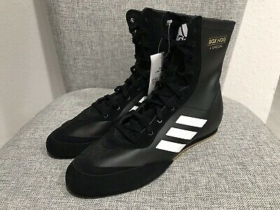 New Adidas Men's Box Hog X Special AC7157 Leather Boxing Shoe Black White Size 9 | eBay