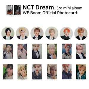 NCT-DREAM-3rd-mini-album-WE-BOOM-Official-Photocard-Member-amp-SET