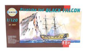 SMER 0901 1//120 Black Falcon Pirate Ship