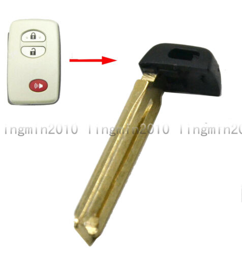 New Uncut Smart Emergency Key Blade For Toyota Avalon Camry RAV4 Sequoia Prius
