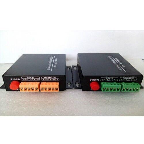 Data Fiber optical Media Converters Tx Rx RS485//422//232 Data over Fiber up 20Km